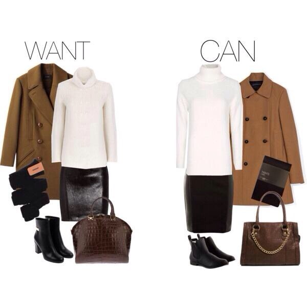 WANT & CAN
