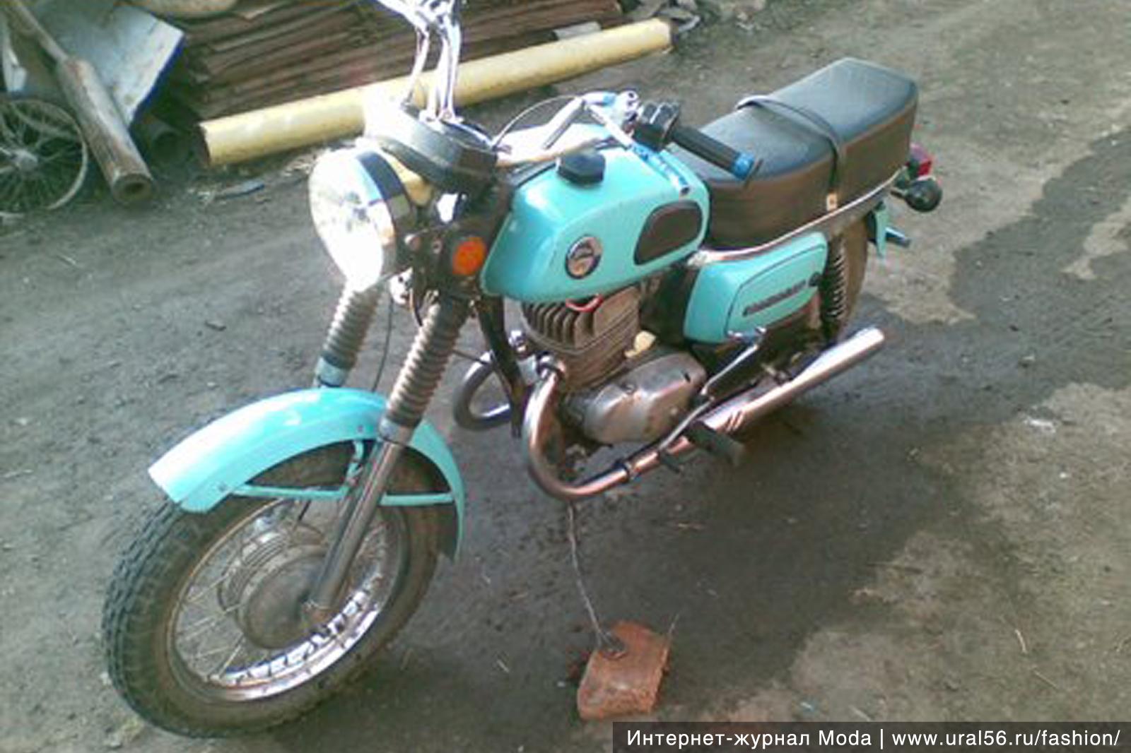 Мотоцикл восход 3м как сделать свет