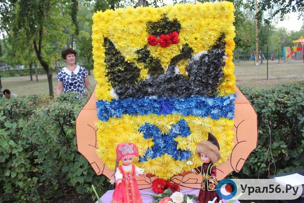 Праздник цветов 2016 оренбург