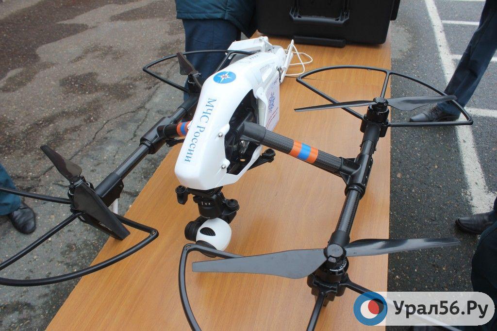 Обучение управлению беспилотного летательного аппарата вОренбурге прошли 45 профессионалов МЧС