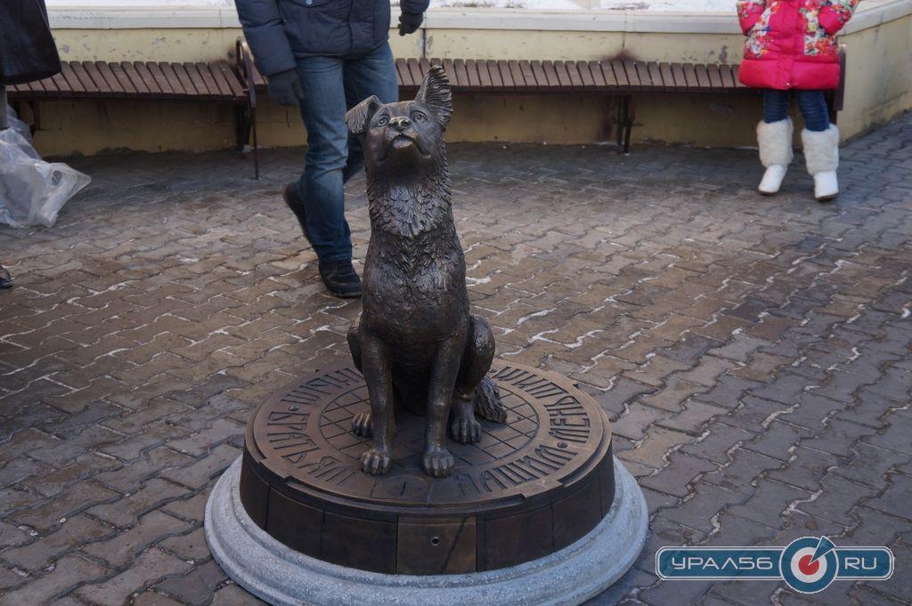 Памятник бездомной собаке в оренбурге цены на памятники липецк к рублю