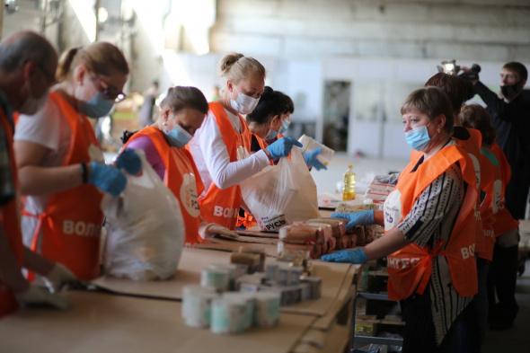 «Пятерочка» установила короба для сбора продовольственной помощи в ряде регионов