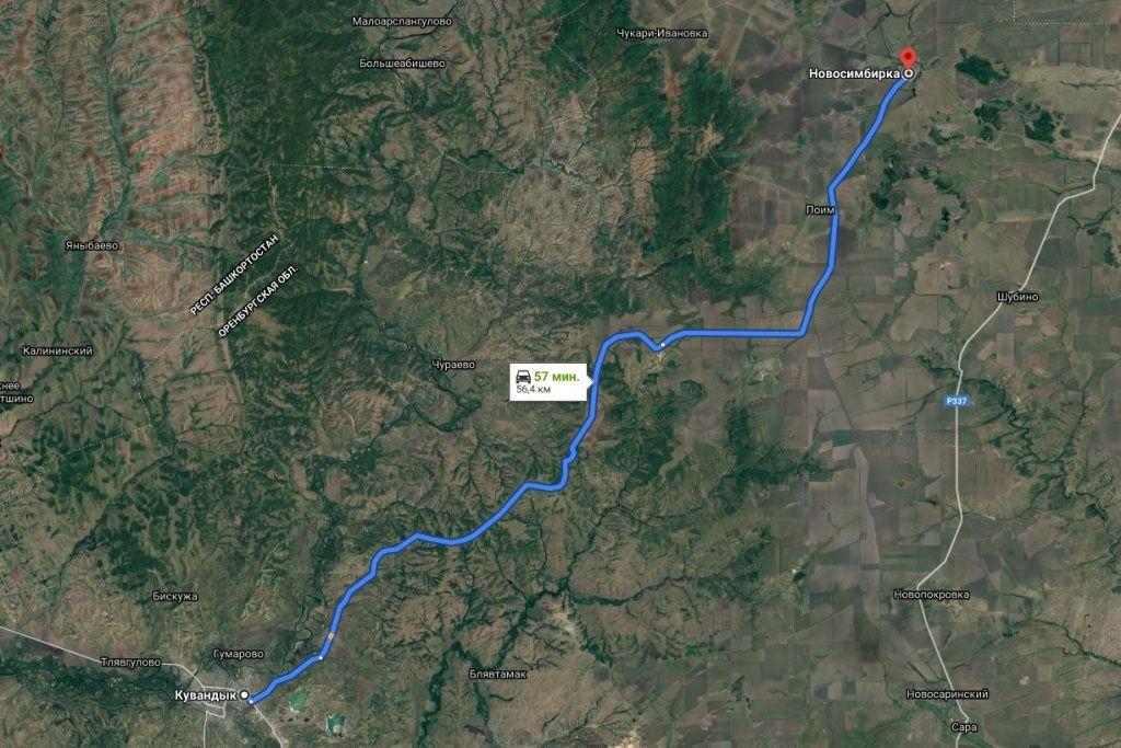 Часть дороги от Кувандыка на Новосимбирку осенью должны привести в порядок