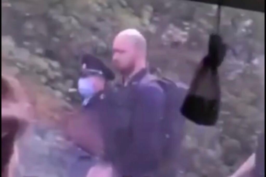 Убийство бизнесмена в Дубках: в Сети появилась видеозапись с одним из подозреваемых