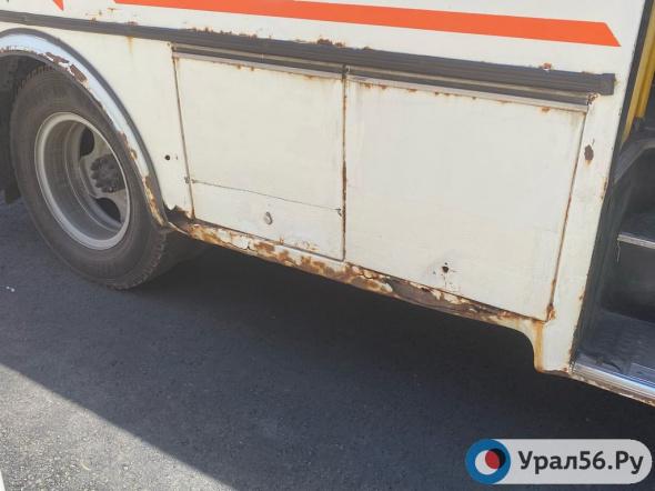 Жители Оренбурга жалуются на безобразное состояние автобусов