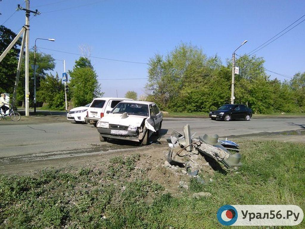 авария 8 мая вольво орск
