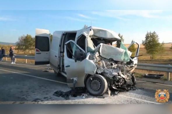 Число жертв ДТП на трассе Уфа-Оренбург увеличилось до 5