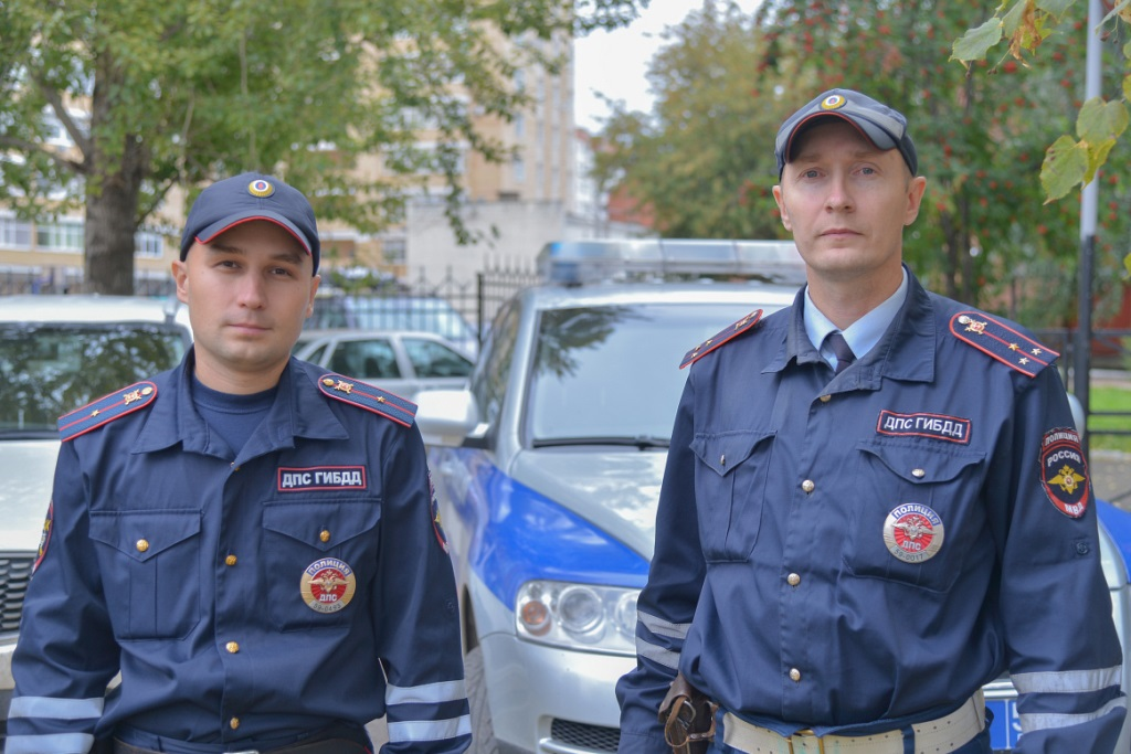 Константин Калинин и его напарник Владимир Макаров.