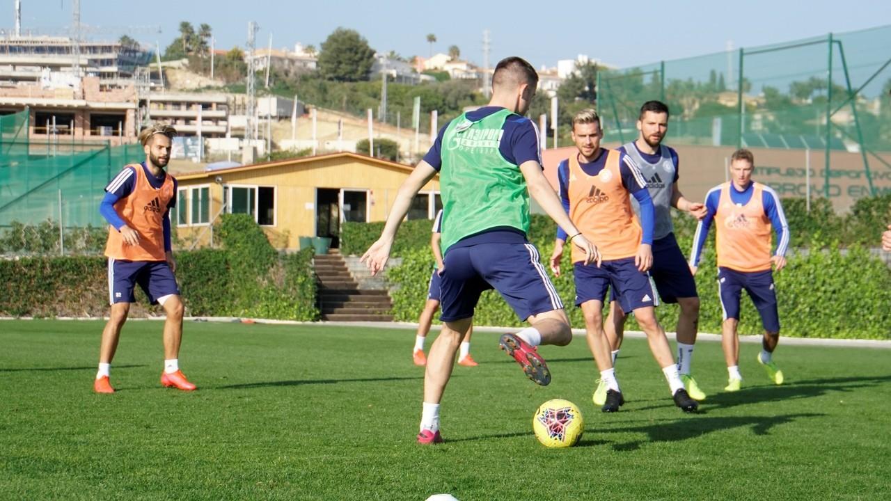Футболисты о сборах в испании