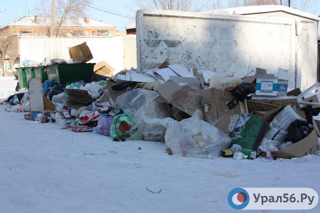 В Новотроицке нет подрядчика для вывоза бытового мусора