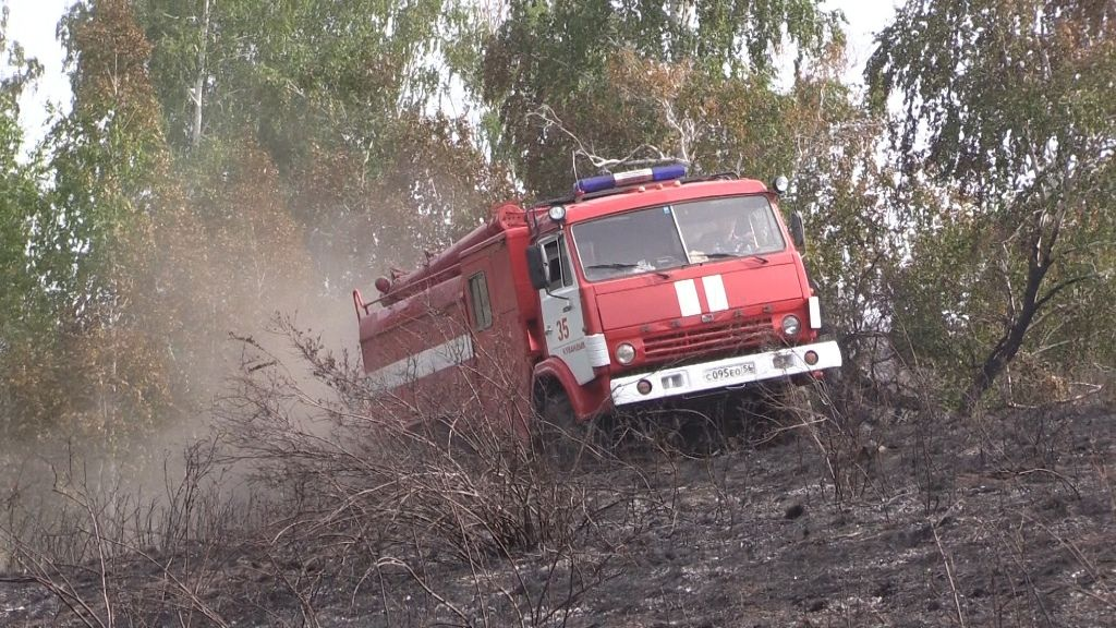 Кувандыку выделили больше 10 млн рублей на покупку техники для борьбы с пожарами