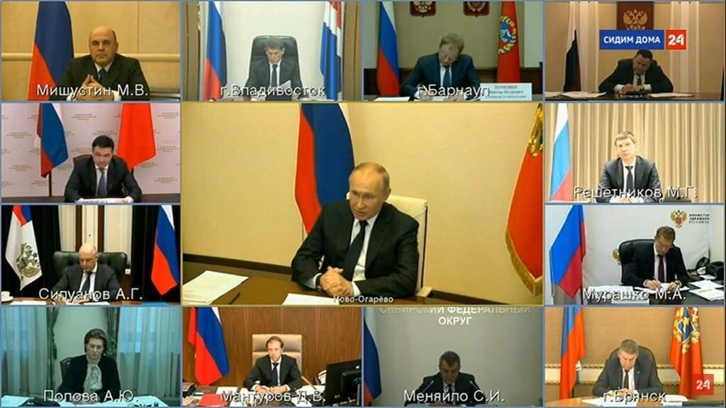 Владимир Путин выступил с обращением к россиянам. О чем говорил ...